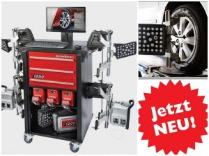 3D-Achsvermessung bei Autotechnik Keller in Meiningen
